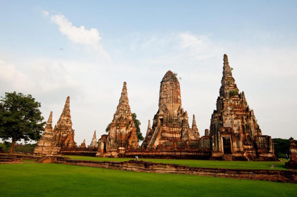 Ayutthaya Wat Chaiwatthanaram Tempel
