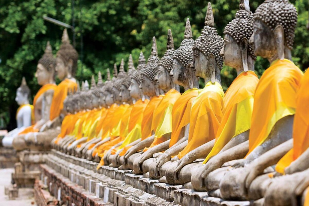Ayutthaya Buddhas Wat Chai Mongkhon
