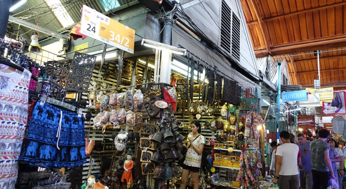 Chatuchak Market Bangkok Shops